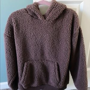 American Eagle Fuzzy Hoodie